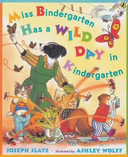 9781417782215: Miss Bindergarten Has A Wild Day In Kindergarten (Turtleback School & Library Binding Edition)