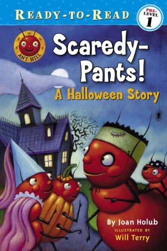 Scaredy-Pants! (Turtleback School & Library Binding Edition) (Ready-To-Read: Pre-Level 1 (...