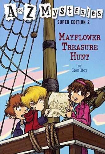 Mayflower Treasure Hunt (Turtleback School & Library Binding Edition) (A to Z Mysteries Super ...