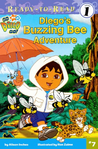 9781417812110: Diego's Buzzing Bee Adventure (Turtleback School & Library Binding Edition) (Ready-To-Read Go Diego Go - Level 1)