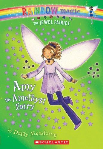 9781417813100: Amy The Amethyst Fairy (Turtleback School & Library Binding Edition) (Rainbow Magic)