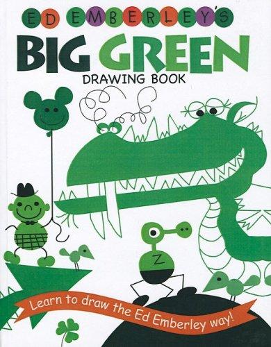 9781417814794: Ed Emberley's Big Green Drawing Book