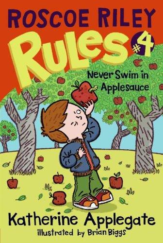 9781417829255: Never Swim In Applesauce (Turtleback School & Library Binding Edition) (Roscoe Riley Rules)