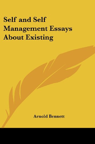 essay about self management Essayoneday provides students with professionally written essays, research papers, term papers, reviews, theses, dissertations and more once you use essayoneday for your paper writing needs, you won't need to try any other services.