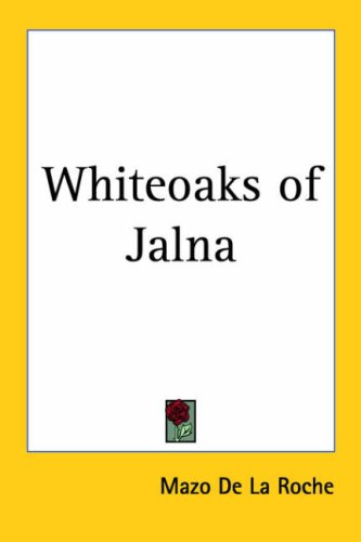 9781417901623: Whiteoaks of Jalna