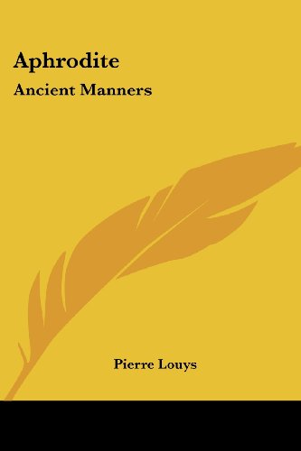 9781417902989: Aphrodite: Ancient Manners