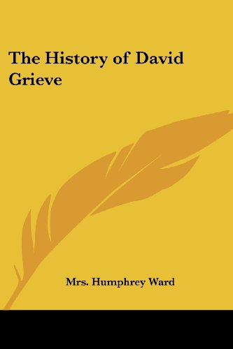 9781417904211: The History of David Grieve