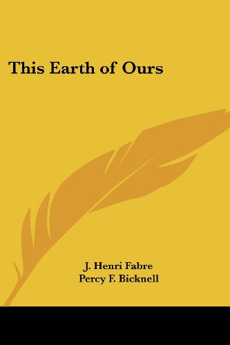 9781417905331: This Earth of Ours