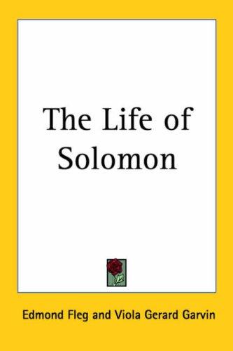 9781417908608: The Life of Solomon