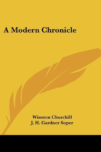 9781417910748: A Modern Chronicle