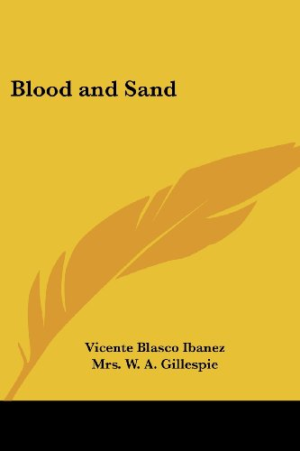 9781417911356: Blood and Sand