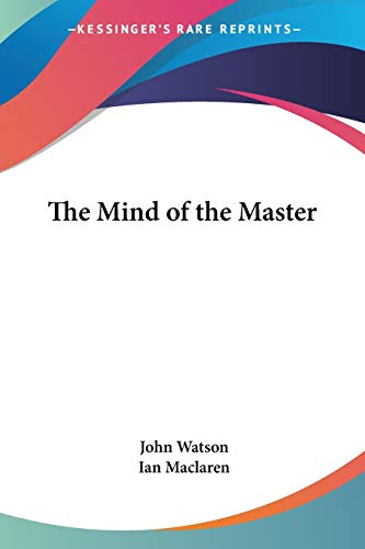 9781417915293: The Mind of the Master