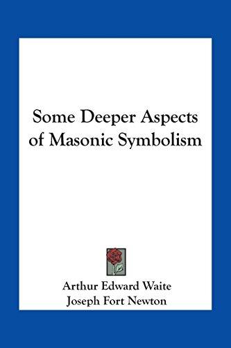 9781417915651: Some Deeper Aspects of Masonic Symbolism