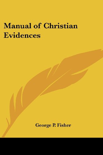 9781417919512: Manual of Christian Evidences