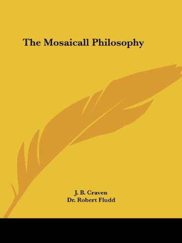 9781417920372: The Mosaicall Philosophy