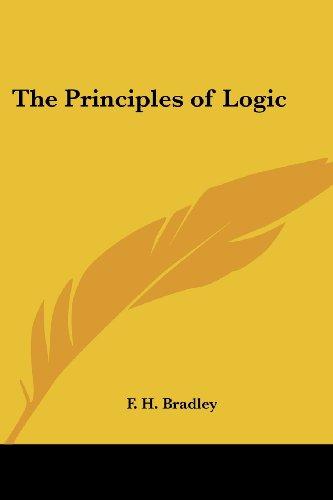 9781417921461: The Principles of Logic
