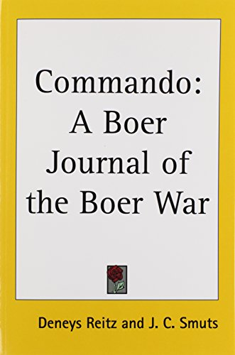 9781417925841: Commando: A Boer Journal of the Boer War