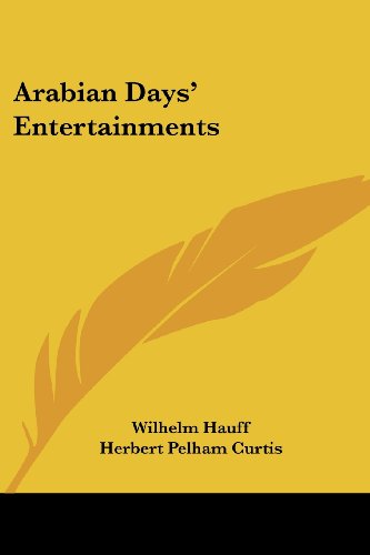 Arabian Days' Entertainments (1417927135) by Wilhelm Hauff