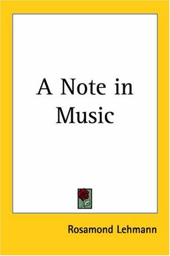 9781417940035: A Note in Music