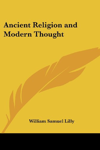 9781417944552: Ancient Religion and Modern Thought