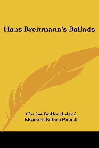 9781417944835: Hans Breitmann's Ballads