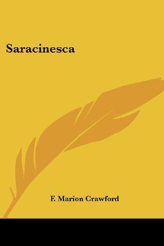 9781417945344: Saracinesca