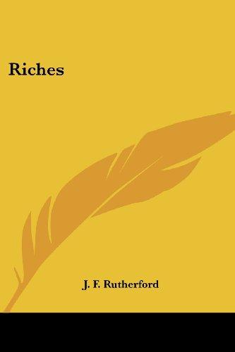 9781417949243: Riches