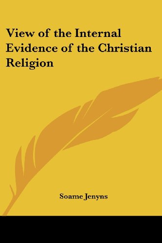 9781417949427: View of the Internal Evidence of the Christian Religion