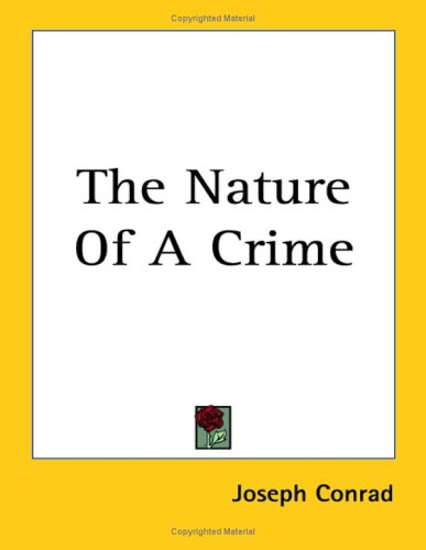 9781417958580: The Nature Of A Crime