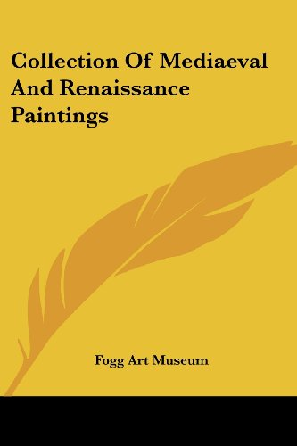 9781417960309: Collection Of Mediaeval And Renaissance Paintings