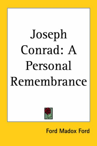 9781417960316: Joseph Conrad: A Personal Remembrance