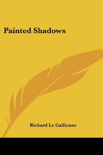 9781417963775: Painted Shadows