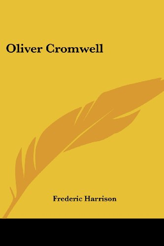 9781417970094: Oliver Cromwell