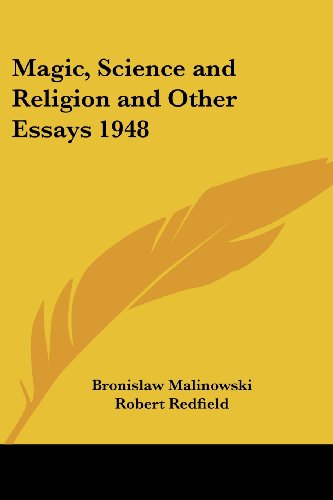 9781417976386: Magic, Science and Religion and Other Essays 1948