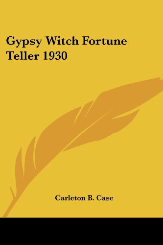 9781417976812: Gypsy Witch Fortune Teller 1930