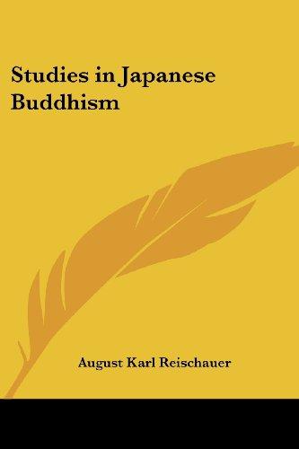 9781417977376: Studies in Japanese Buddhism