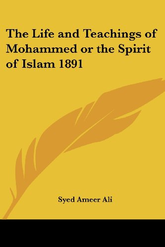 9781417977857: The Life and Teachings of Mohammed or the Spirit of Islam 1891