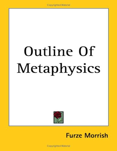 9781417978632: Outline of Metaphysics