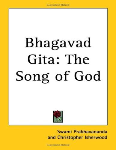 9781417985647: Bhagavad Gita: The Song of God
