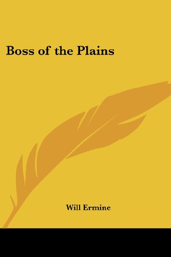 9781417986040: Boss of the Plains