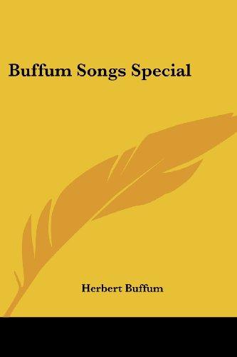 9781417986248: Buffum Songs Special
