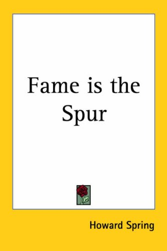 9781417989317: Fame Is the Spur