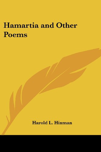 9781417991167: Hamartia and Other Poems