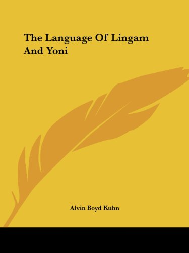 9781417998500: The Language Of Lingam And Yoni