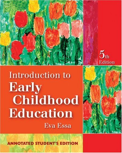 9781418000790: Introduction to Early Childhood Education