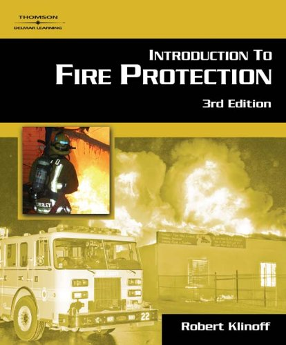 Introduction To Fire Protection: Robert Klinoff