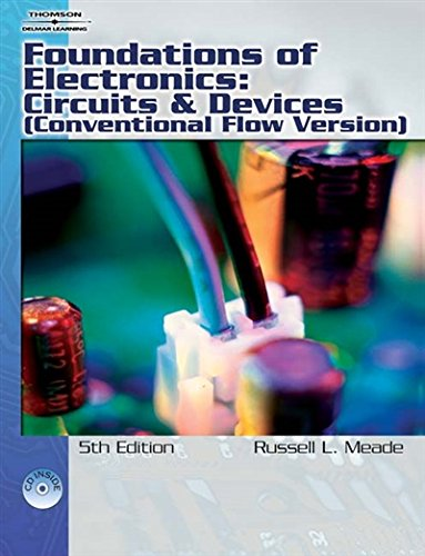 9781418005412: Foundations of Electronics: Circuits & Devices Conventional Flow