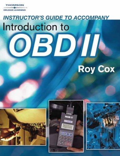 9781418012229: Instructor Gde-Intro to Obdii