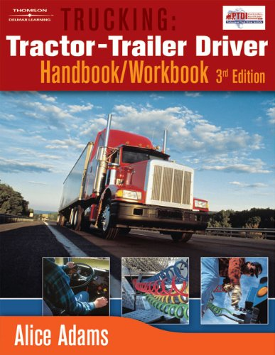 9781418012625: Trucking: Tractor-Trailer Driver Handbook/Workbook
