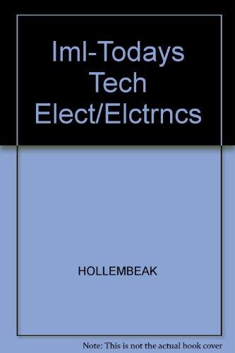 9781418012687: Iml-Todays Tech Elect/Elctrncs
